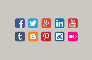 Afbeelding van aantal share buttons