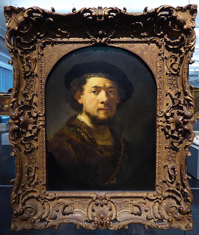 Foto van schilderij van Rembrandt