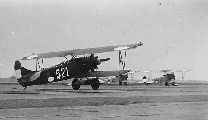 Foto van vliegtuigen