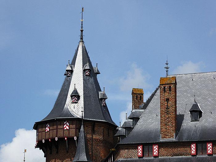 Foto van dak toren