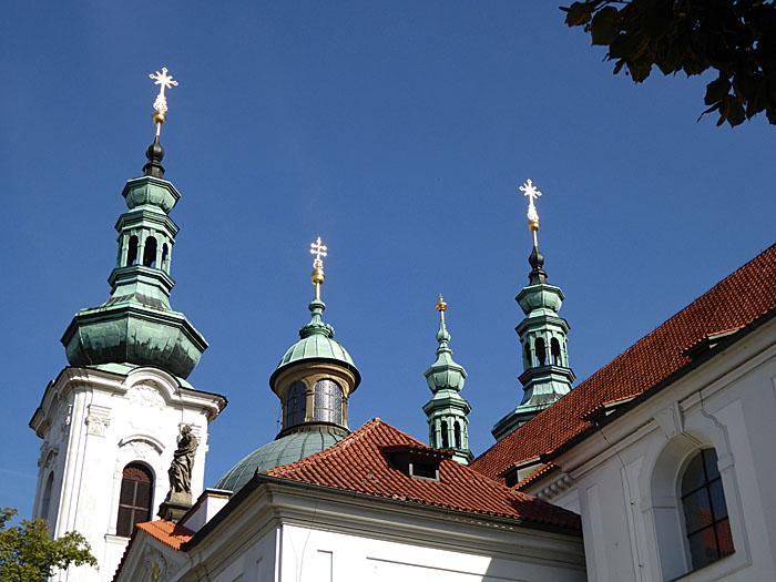 Foto van vier torens