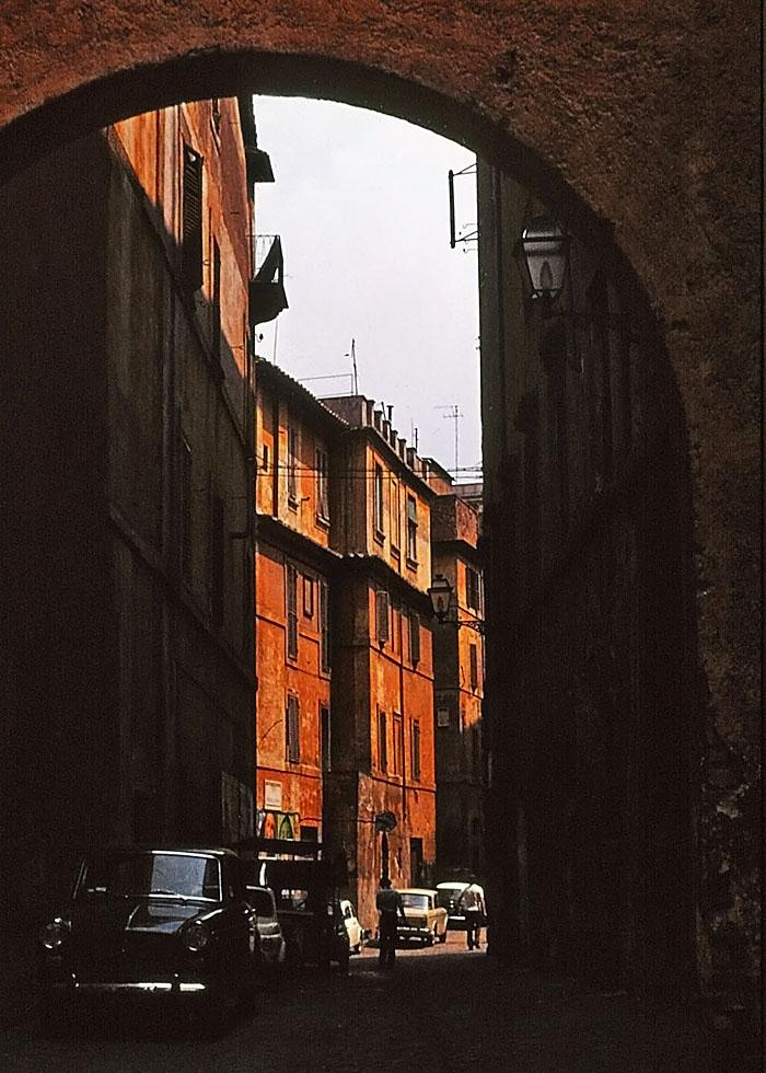 Foto van straatje