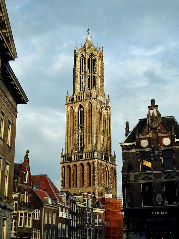 Foto van kerktoren