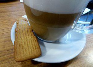 Foto van koekje in vorm van dom