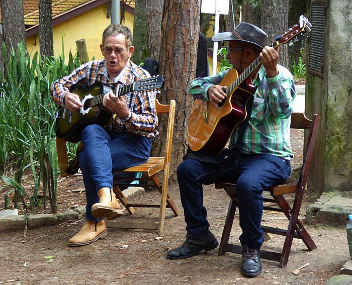Foto van muzikanten