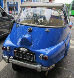 Foto van achterkant Isetta