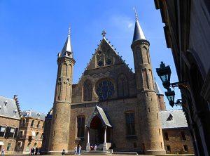 Foto van ingang Ridderzaal