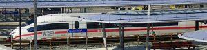 Foto van internationale trein