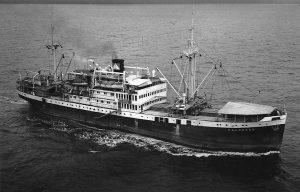 Foto van schip de Kaloekoe