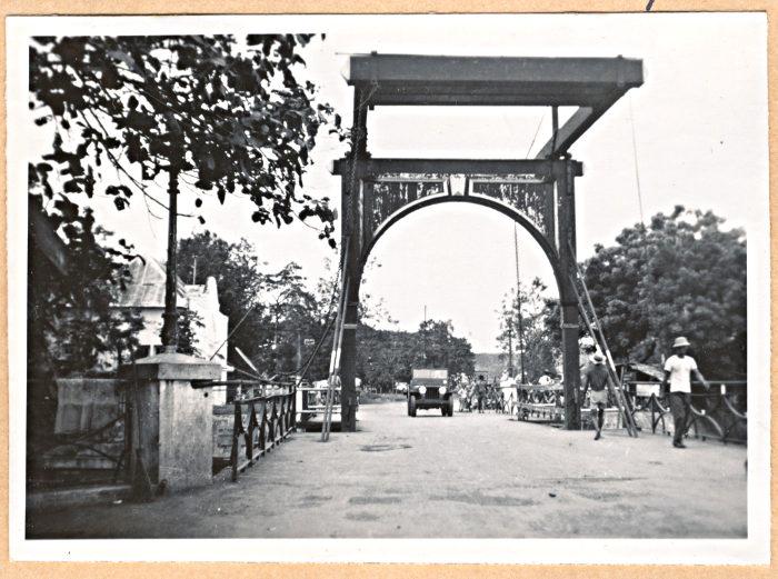 Foto van ophaalbrug