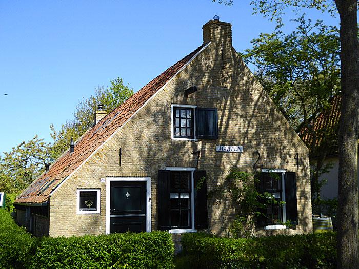 Foto van stenen huisje