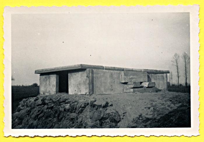 Foto van bunker