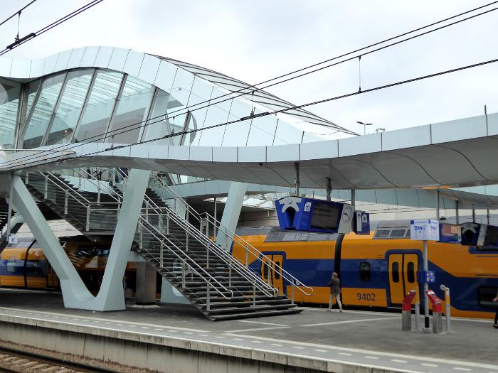 Foto van deel van station