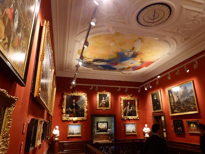 Foto van zaal van Mauritshuis