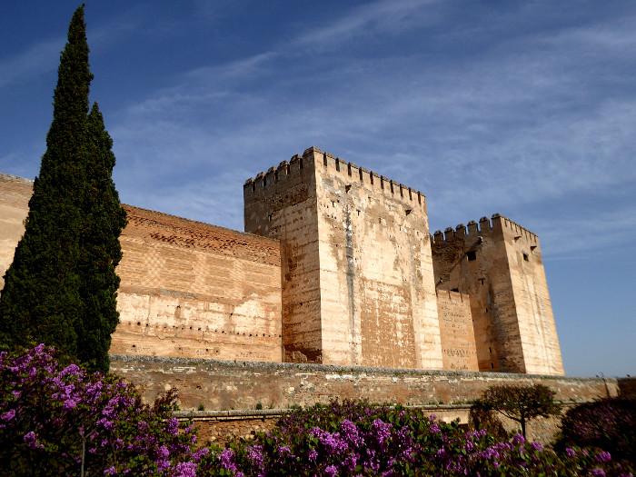 Foto van muur van fort
