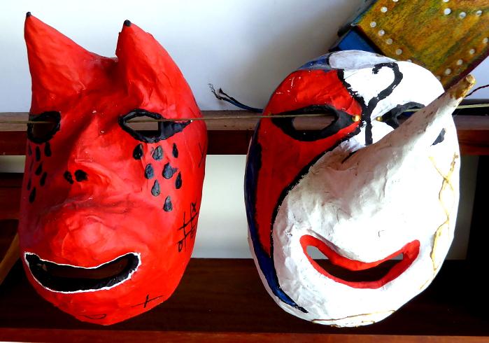 Foto van maskers