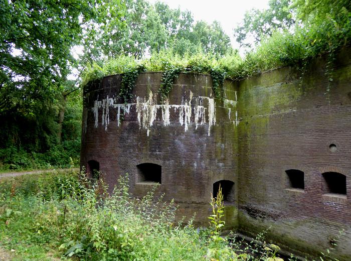Foto van detail van fort