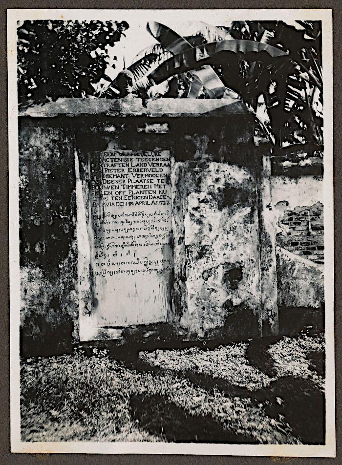 Foto van monument