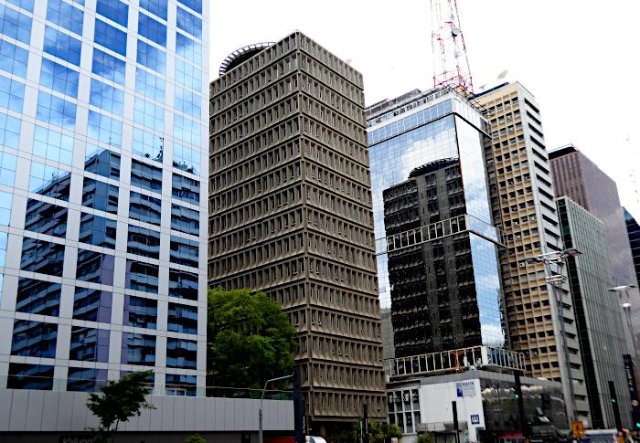 Foto van hoogbouw