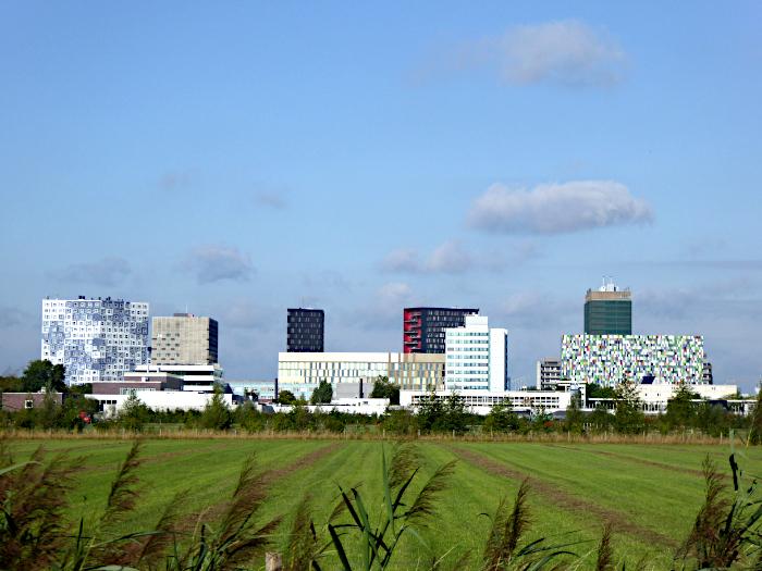 Foto van uitzicht op gebouwen