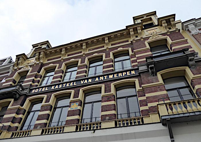 Foto van monumentaal pand Hotel Kasteel van Antwerpen