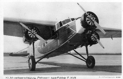Foto van vliegtuig Pelikaan
