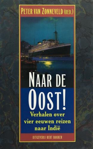 Omslag boek 'Naar de Oost!'