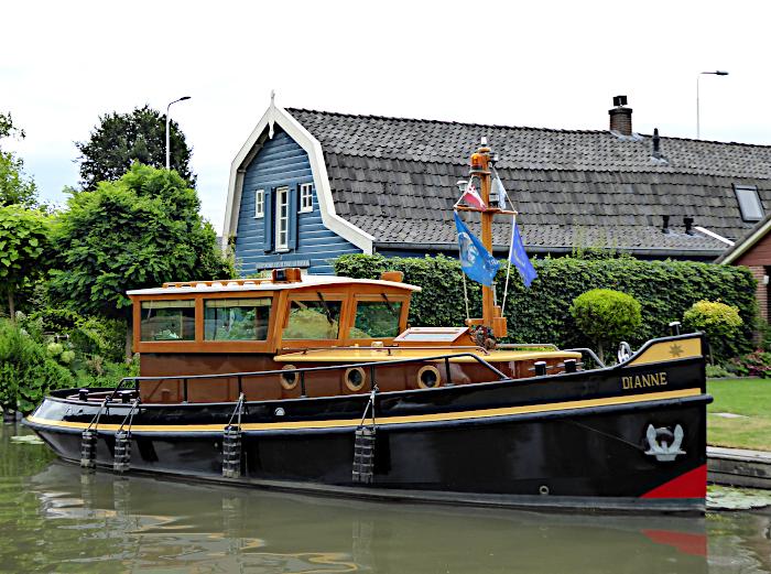 Foto van motorboot