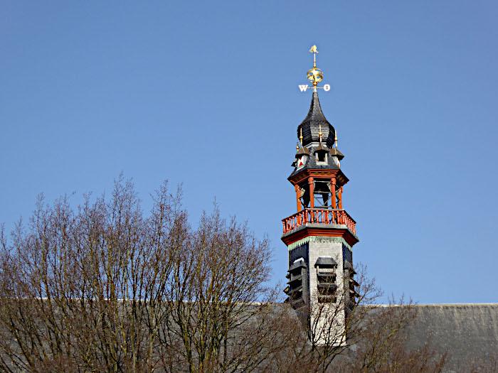 Foto van torentje op dak