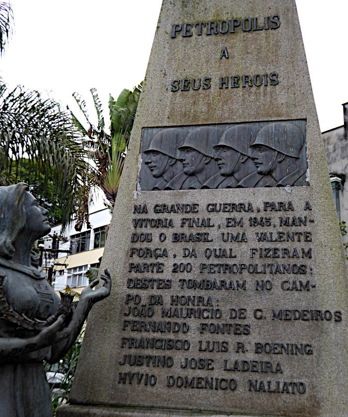 Foto van detail van monument