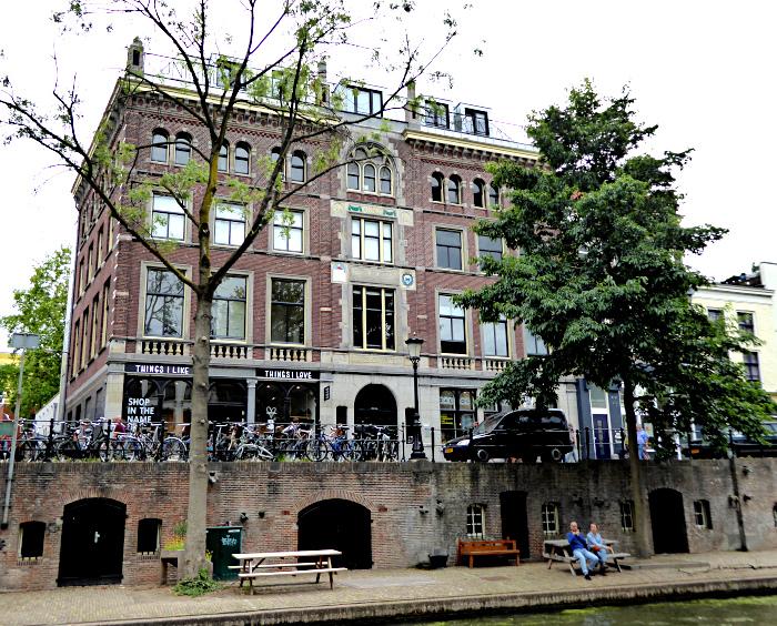 Foto van pand aan Oudegracht