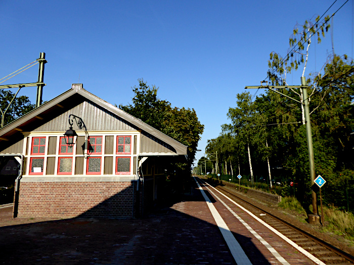 Foto van station