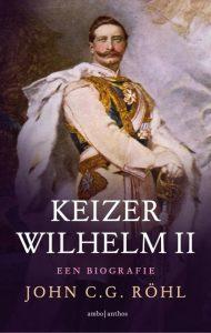 Omslag biografie van keizer Wilhelm II