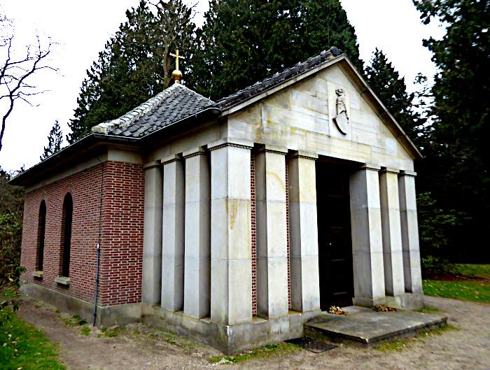 foto van grafhuis