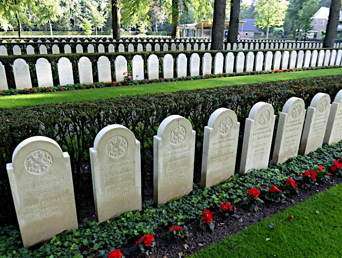 Foto van begraafplaats