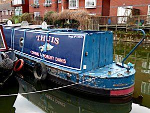 Foto van boot met naam: Thuis