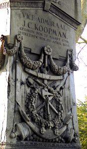 Foto van deel graf van Koopman