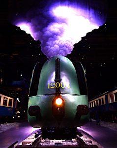 Foto van front locomotief