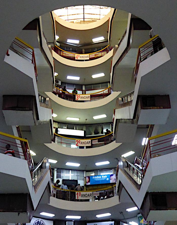 Foto van atrium van gebouw