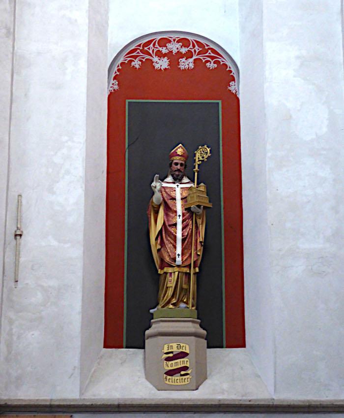 Foto van heiligenbeeld
