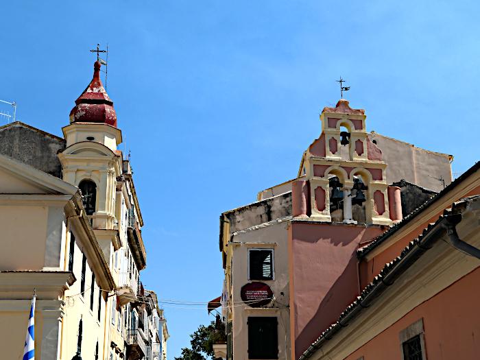 Foto van Griekse kerken