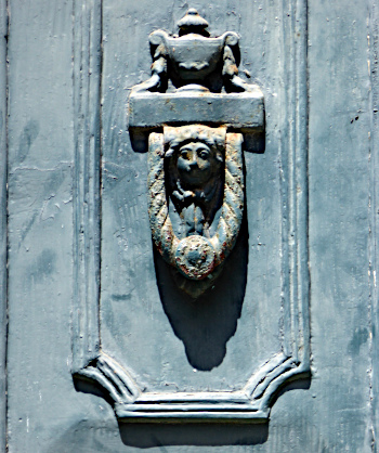 Foto van deurklopper