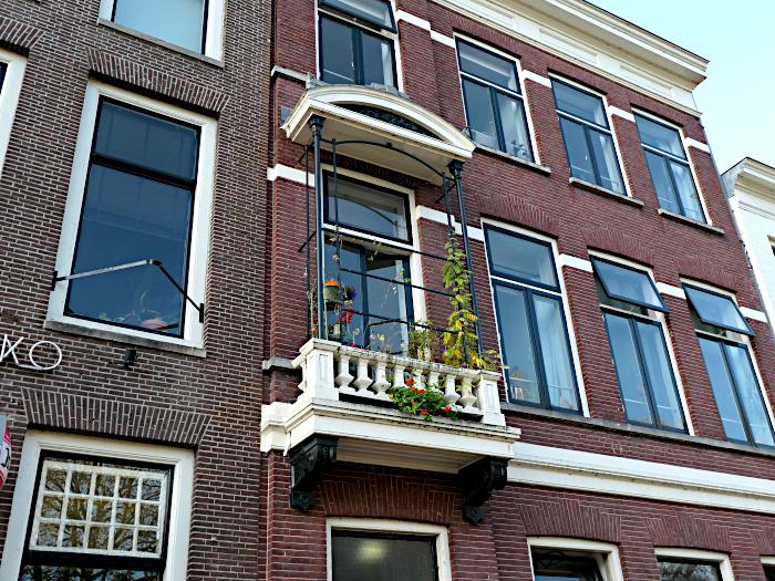 Foto van balkon met planten